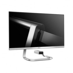 """AOC PDS241 23.8"""" Widescreen IPS LED Silver Monitor (1920x1080/4ms/HDMI)"""